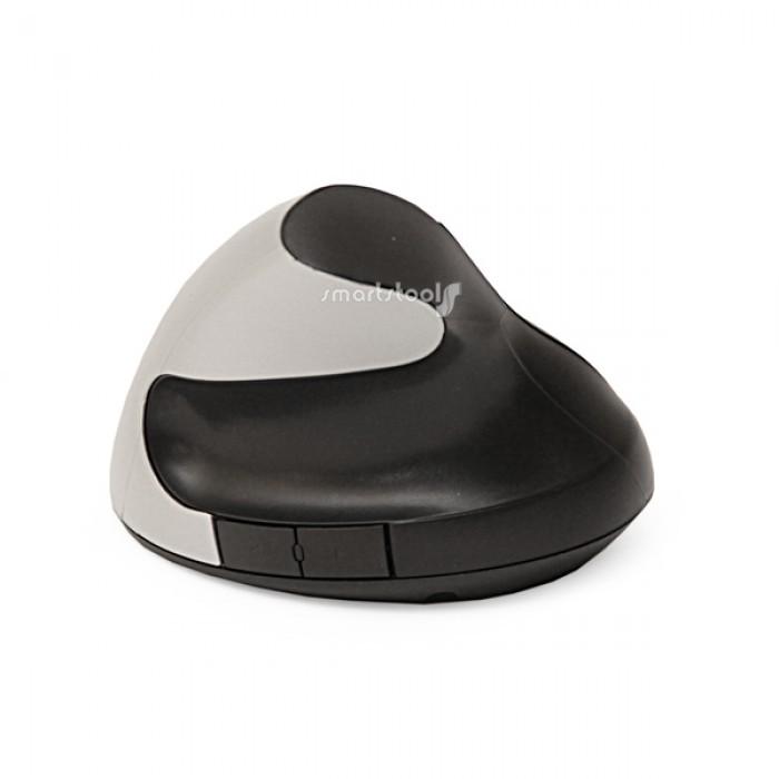 Вертикальная эргономичная мышь Smartstool EM02 беспроводнаяАксессуары<br><br>Бренд: SmartStool; Ширина (см): 7; Глубина (см): 10; Высота (см): 9.5;