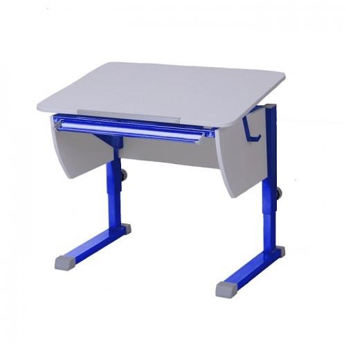 Парта Астек Колибри Белый СинийПарты и столы<br><br>Цвет материала: Белый; Цвет каркаса: Синий; Бренд: Астек; Ширина (см): 80; Глубина (см): 58; Высота (см): 53-78;