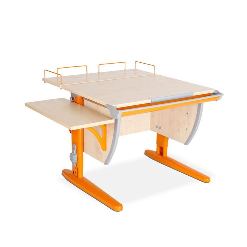 Парта Дэми СУТ-14-02 Клен ОранжевыйПарты и столы<br><br>Цвет материала: Клен; Цвет каркаса: Оранжевый; Бренд: Дэми; Ширина (см): 100; Глубина (см): 80; Высота (см): 53-81,5;