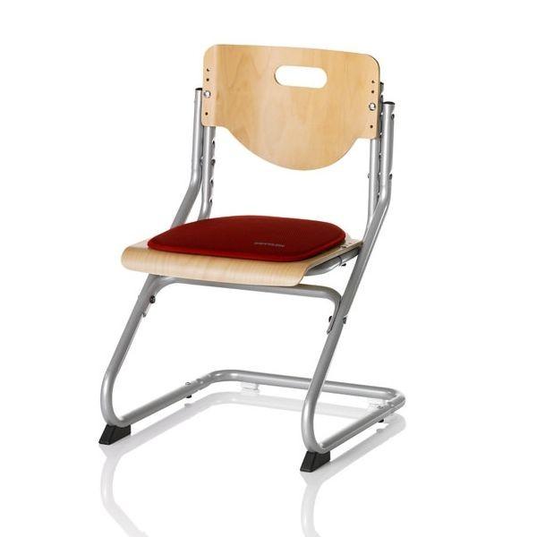 Подушка на липучках для стула Kettler Chair КрасныйАксессуары<br><br>Цвет: Красный; Бренд: Kettler; Ширина (см): 34; Глубина (см): 34;