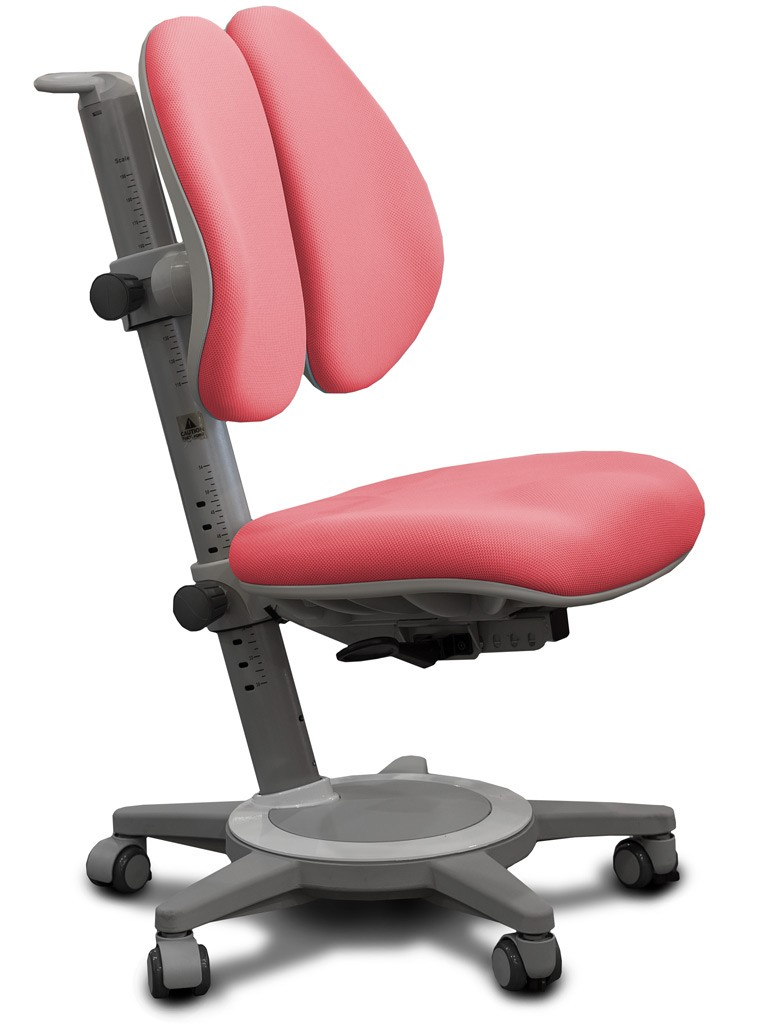 Детское кресло Mealux Y-415 Cambridge Duo Розовый СерыйСтулья и кресла<br><br>Цвет обивки кресла: Розовый; Цвет каркаса: Серый; Бренд: Mealux;