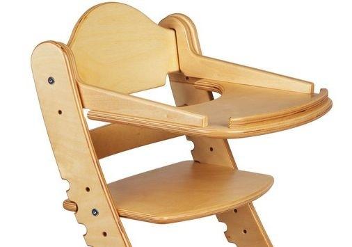 """Столик для детского растущего стула """"Два Кота"""" Береза"""
