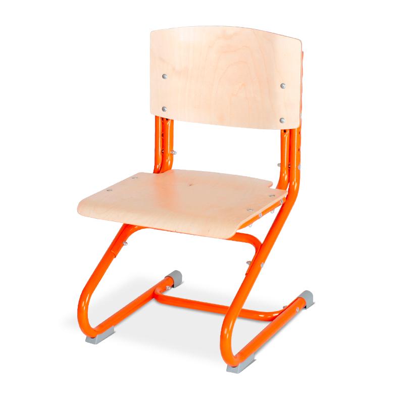 Растущий стул Дэми СУТ.02-01 фанера Клен ОранжевыйСтулья и кресла<br><br>Цвет материала: Клен; Цвет каркаса: Оранжевый; Бренд: Дэми;