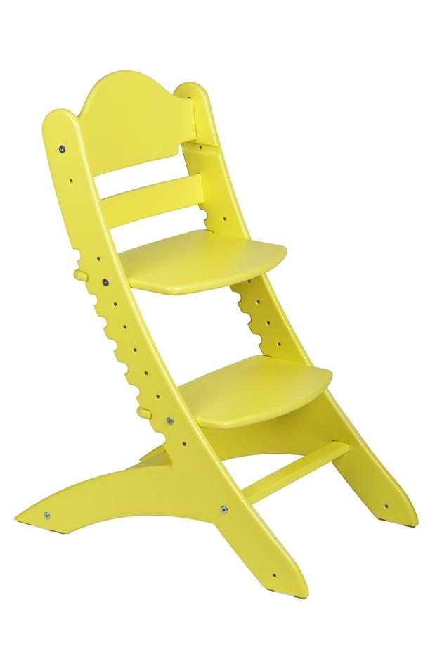 Детский растущий стул «Два кота» М1 Желтый