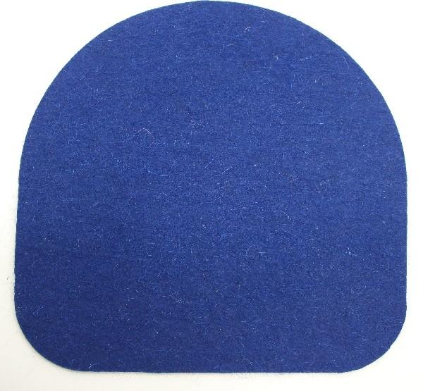 Подушка из войлока для стула Kettler Chair СинийАксессуары<br><br>Цвет: Синий; Бренд: Kettler; Ширина (см): 35; Глубина (см): 35;