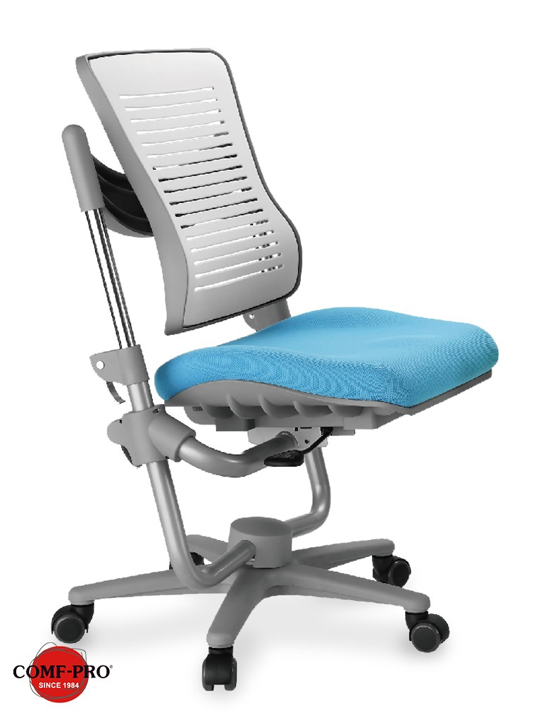 Детское кресло Comf-Pro Angel C3-400 ГолубойКресла Comf-Pro<br><br>Цвет обивки кресла: Голубой; Бренд: Comf-Pro; Глубина (см): 33-48; Высота (см): 77-94,5;