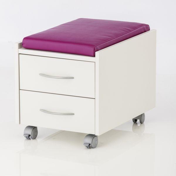 Подушка для тумб Kettler из материала Softex ФиолетовыйАксессуары<br><br>Цвет: Фиолетовый; Бренд: Kettler; Ширина (см): 36; Глубина (см): 55; Высота (см): 6;