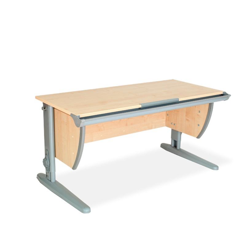 Парта Дэми СУТ-15 Клен СерыйПарты и столы<br><br>Цвет материала: Клен; Цвет каркаса: Серый; Бренд: Дэми; Ширина (см): 120; Глубина (см): 55; Высота (см): 53-81,5;