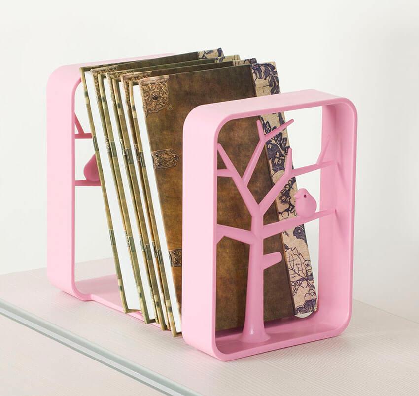 Держатели книг TCT Nanotec РозовыйАксессуары<br><br>Цвет: Розовый; Бренд: TCT Nanotec; Ширина (см): 14; Глубина (см): 15; Высота (см): 19;