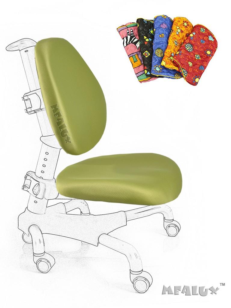 Чехол для кресла Nobel Y-517 / Champion Y-718 зеленыйАксессуары<br><br>Цвет обивки кресла: Зеленый; Бренд: Mealux;