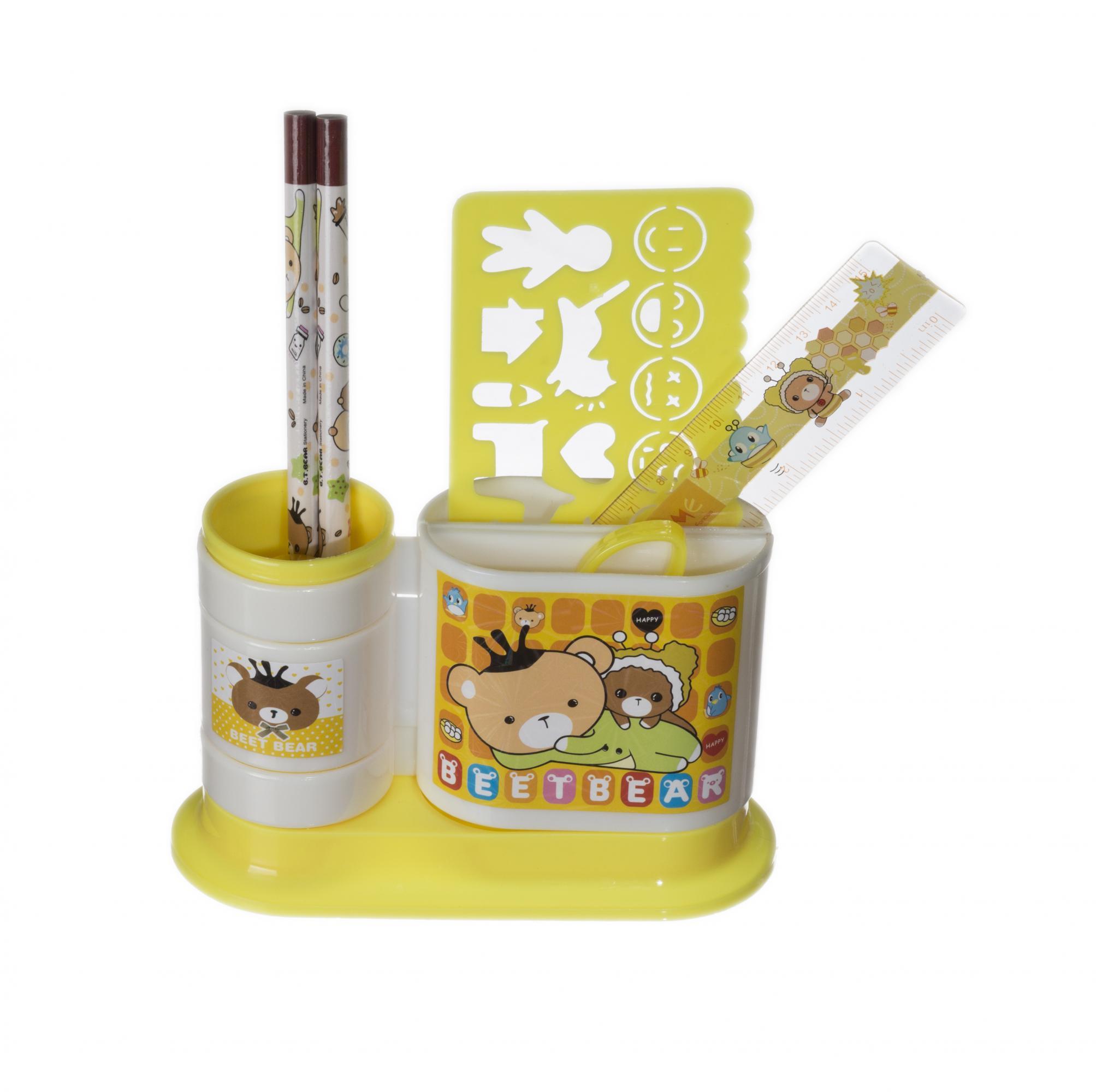 Набор канцтоваров подарочный EVO ЖелтыйАксессуары<br><br>Цвет: Желтый; Бренд: Mealux;
