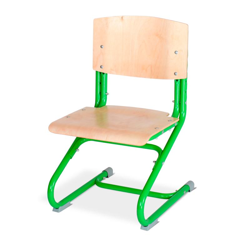 Растущий стул Дэми СУТ.01-01 фанера Клен ЗеленыйСтулья и кресла<br><br>Цвет материала: Клен; Цвет каркаса: Зеленый; Бренд: Дэми;