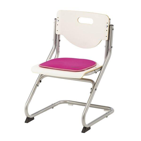Подушка на липучках для стула Kettler Chair РозовыйАксессуары<br><br>Цвет: Розовый; Бренд: Kettler; Ширина (см): 34; Глубина (см): 34;