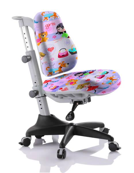 Детское кресло Comf-Pro Y-518 Match (Матч) Сиреневый с девочкамиСтулья и кресла<br><br>Цвет обивки кресла: Сиреневый с девочками; Бренд: Comf-Pro; Ширина (см): 60; Глубина (см): 60;