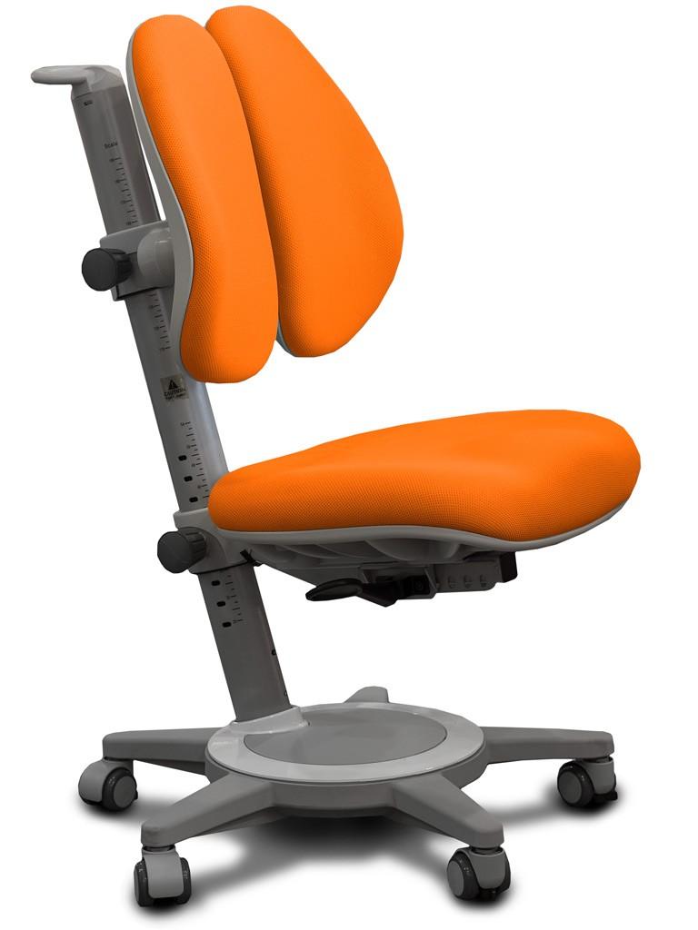 Детское кресло Mealux Y-415 Cambridge Duo Оранжевый СерыйСтулья и кресла<br><br>Цвет обивки кресла: Оранжевый; Цвет каркаса: Серый; Бренд: Mealux;