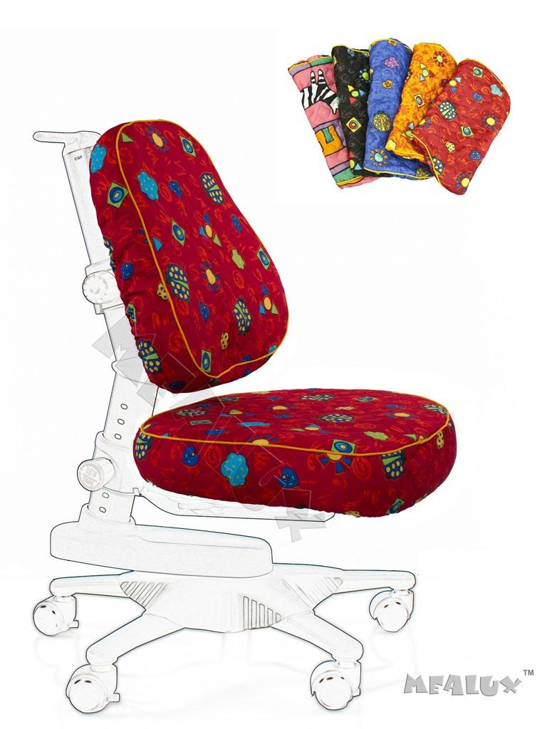 Чехол для кресла Newton Y-818 / Match Y-518 Красный с жучкамиАксессуары<br><br>Цвет обивки кресла: Красный с жучками; Бренд: Comf-Pro;