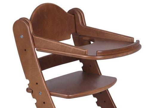 """Столик для детского растущего стула """"Два Кота"""" Старинный орех"""