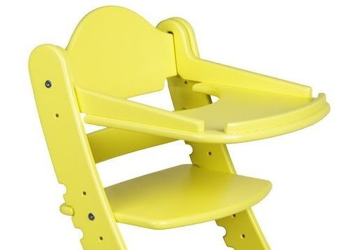 """Столик для детского растущего стула """"Два Кота"""" Желтый"""