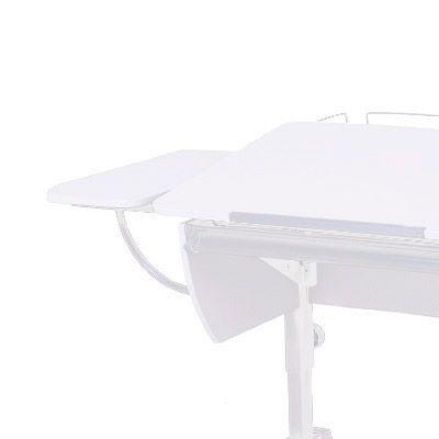 Полка боковая к партам Астек Белый БелыйТумбы, стеллажи<br><br>Цвет материала: Белый; Цвет каркаса: Белый; Бренд: Астек; Ширина (см): 25; Глубина (см): 58;