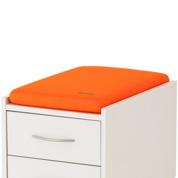 Подушка для тумб Kettler ОранжевыйАксессуары<br><br>Цвет: Оранжевый; Бренд: Kettler; Ширина (см): 36; Глубина (см): 55; Высота (см): 6;