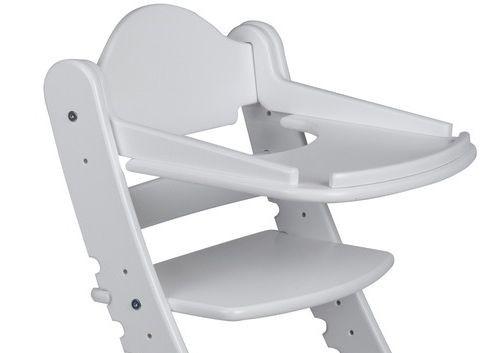 """Столик для детского растущего стула """"Два Кота"""" Белый"""