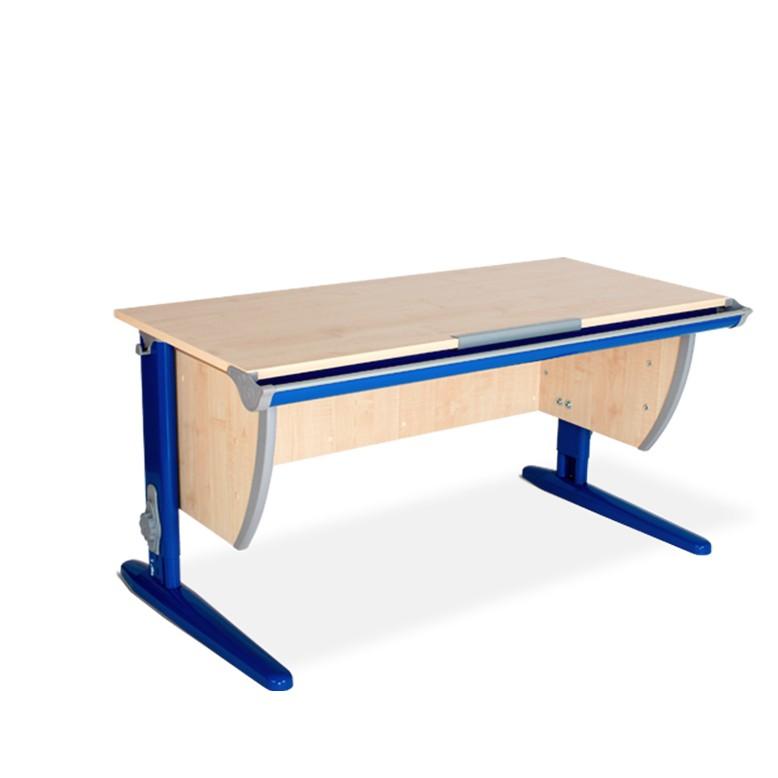 Парта Дэми СУТ-15 Клен СинийПарты и столы<br><br>Цвет материала: Клен; Цвет каркаса: Синий; Бренд: Дэми; Ширина (см): 120; Глубина (см): 55; Высота (см): 53-81,5;