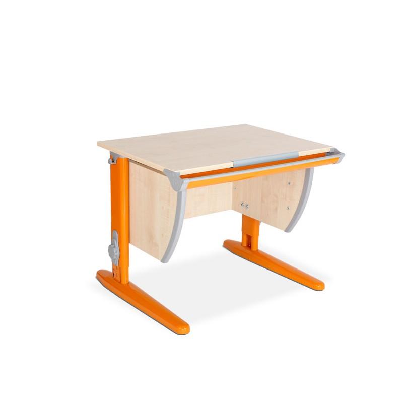 Парта Дэми СУТ-14 Клен ОранжевыйПарты и столы<br><br>Цвет материала: Клен; Цвет каркаса: Оранжевый; Бренд: Дэми; Ширина (см): 75; Глубина (см): 55; Высота (см): 53-81,5;