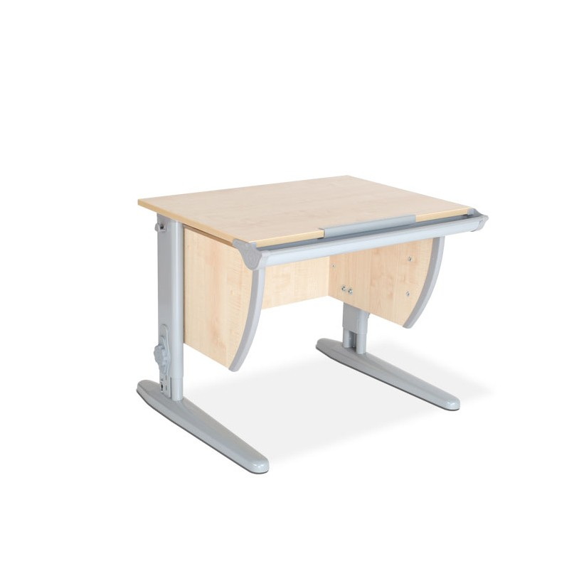 Парта Дэми СУТ-14 Клен СерыйПарты и столы<br><br>Цвет материала: Клен; Цвет каркаса: Серый; Бренд: Дэми; Ширина (см): 75; Глубина (см): 55; Высота (см): 53-81,5;