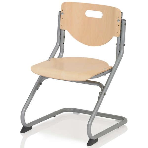 Стул Kettler Chair Бук СереброСтулья и кресла<br><br>Цвет материала: Бук; Цвет каркаса: Серебро; Бренд: Kettler; Ширина (см): 47; Глубина (см): 47; Высота (см): 62-86;