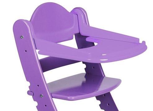 """Столик для детского растущего стула """"Два Кота"""" Сиреневый"""