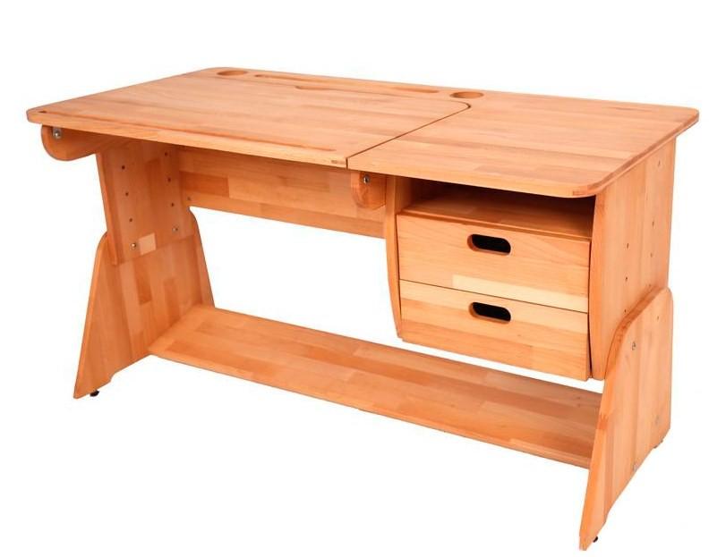 Парта Школярик с тумбой С-412-1 правая (120 см)Парты и столы<br><br>Ширина (см): 120; Глубина (см): 58; Высота (см): 46-64;