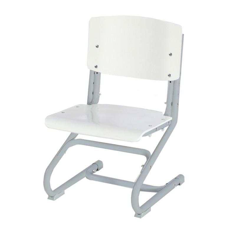 Растущий стул Дэми СУТ.02-01 фанера Белый Серый