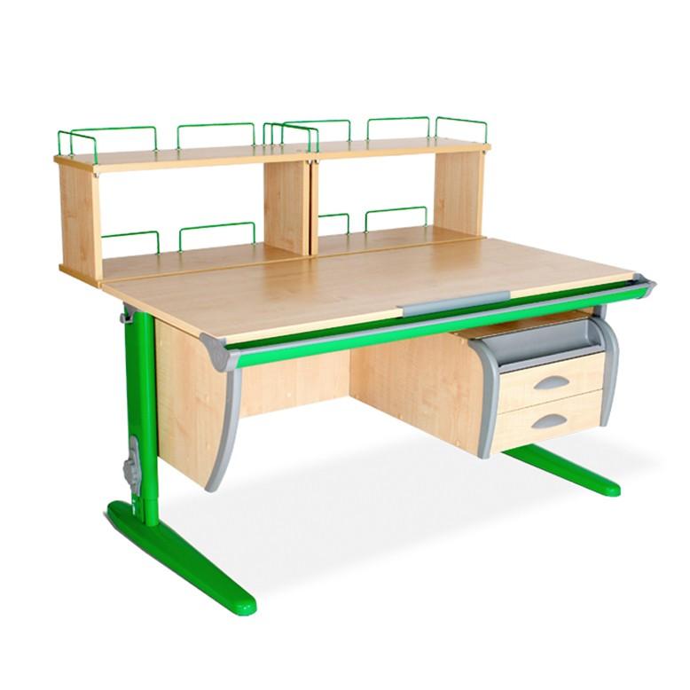 Парта Дэми СУТ-15-04Д2 Клен ЗеленыйПарты и столы<br><br>Цвет материала: Клен; Цвет каркаса: Зеленый; Бренд: Дэми; Ширина (см): 120; Глубина (см): 80; Высота (см): 53-81,5;