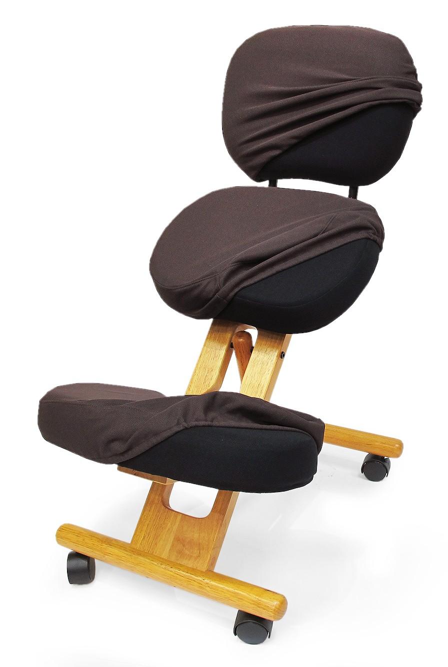 Чехол для коленных стульев Smartstool KW02B (со спинкой) КоричневыйАксессуары<br><br>Цвет: Коричневый; Бренд: SmartStool;