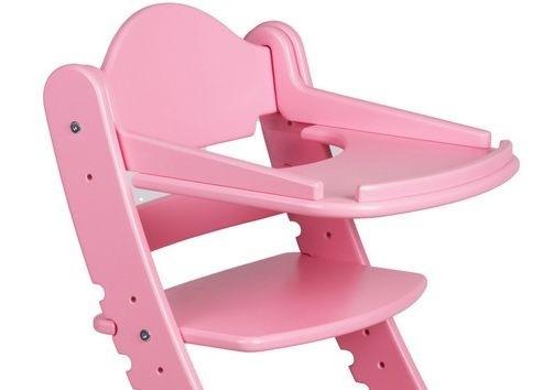 """Столик для детского растущего стула """"Два Кота"""" Розовый"""