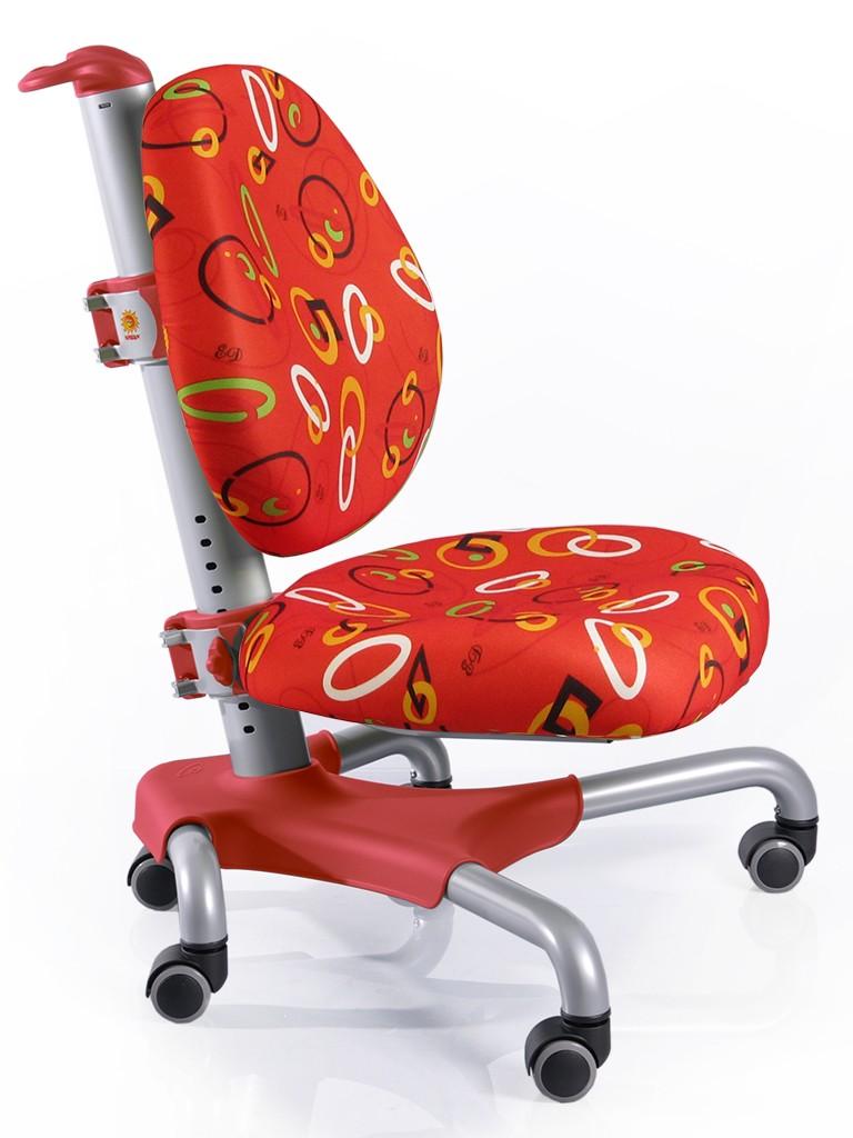 Детское кресло Mealux Y-517 Nobel Красный с кольцами Серебро