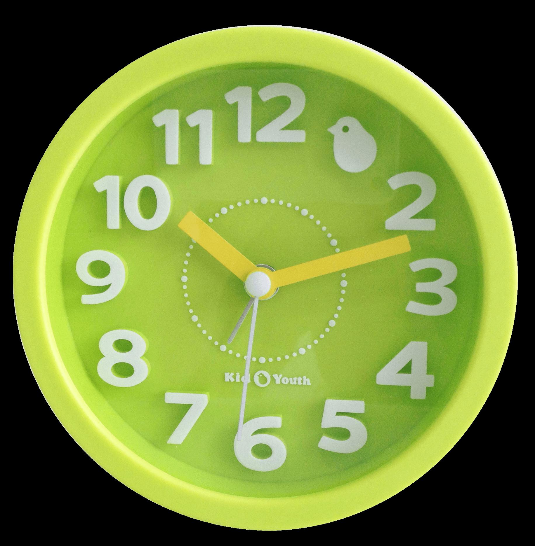 Часы-будильник TCT Nanotec ЗеленыйАксессуары<br><br>Цвет: Светло-зеленый; Бренд: TCT Nanotec; Ширина (см): 12; Глубина (см): 2,5; Высота (см): 12;