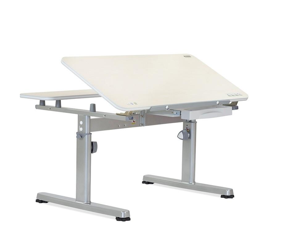 Парта TCT Nanotec Эргономик R2-93 СерыйПарты и столы<br><br>Цвет материала: Клен; Цвет каркаса: Серый; Бренд: TCT Nanotec; Ширина (см): 93; Глубина (см): 70; Высота (см): 52;