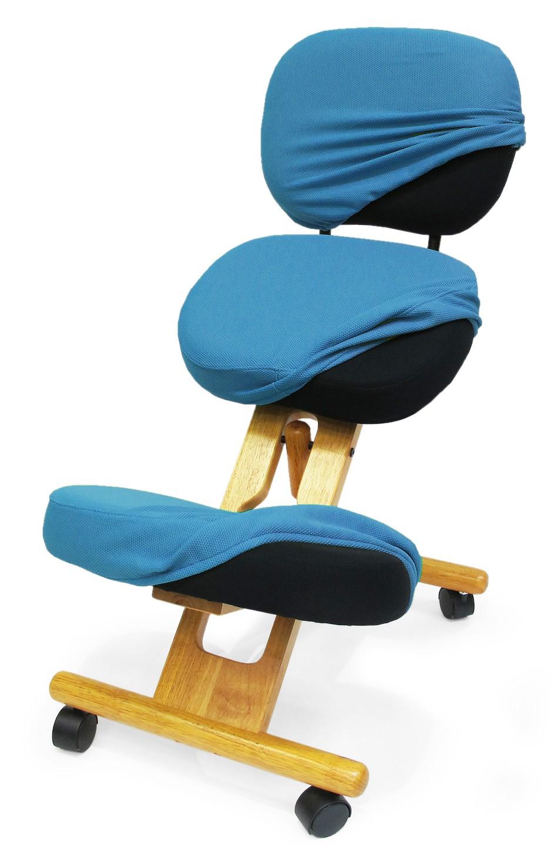 Купить Чехол для коленных стульев Smartstool KW02B (со спинкой) Голубой, smartstool, Россия, Голубой