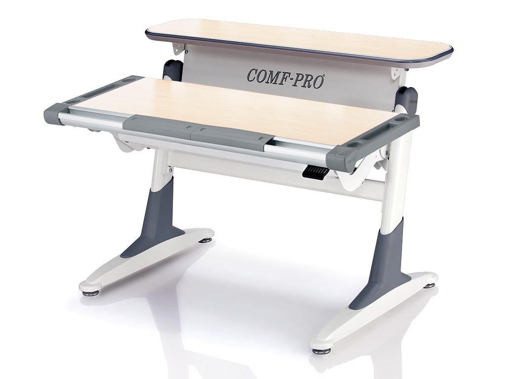 Стол Comf-Pro TH333 Coho (Кохо) Дуб беленый СерыйПарты и столы<br><br>Цвет материала: Дуб беленый; Цвет каркаса: Белый; Цвет: Серый; Бренд: Comf-Pro; Ширина (см): 106; Глубина (см): 76; Высота (см): 54-75;