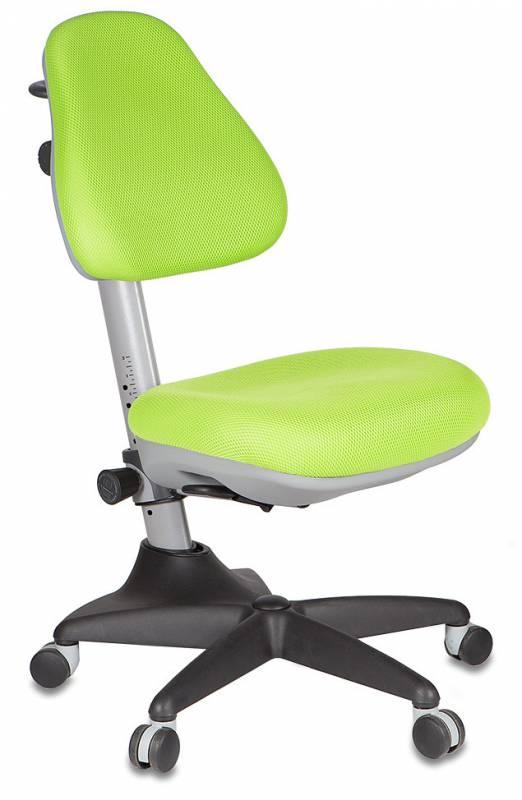 Растущее детское кресло Бюрократ KD-2 ЗеленыйСтулья и кресла<br><br>Цвет обивки кресла: Зеленый; Бренд: Бюрократ; Ширина (см): 60; Глубина (см): 58; Высота (см): 81-91;