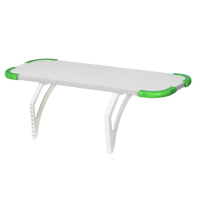 Задняя полка Дэми Techno для парт СУТ-26, 75 см (СУТ.26.210) Белый ЗеленыйТумбы, стеллажи<br><br>Цвет материала: Белый; Цвет: Зеленый; Бренд: Дэми; Ширина (см): 75; Глубина (см): 25;