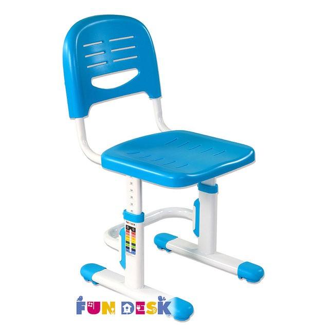 Детский стул FunDesk SST3 ГолубойСтулья и кресла<br><br>Цвет: Голубой; Бренд: FunDesk; Ширина (см): 34.5; Глубина (см): 36.5; Высота (см): 30-44;
