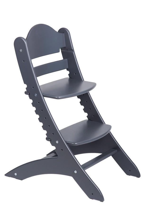 Детский растущий стул «Два кота» М1 Антрацит