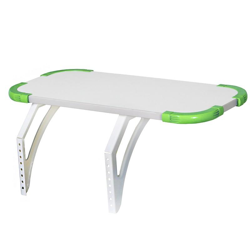 Полка Дэми Techno для парт СУТ-26/31, 55 см (СУТ 26.230)Белый Зеленый