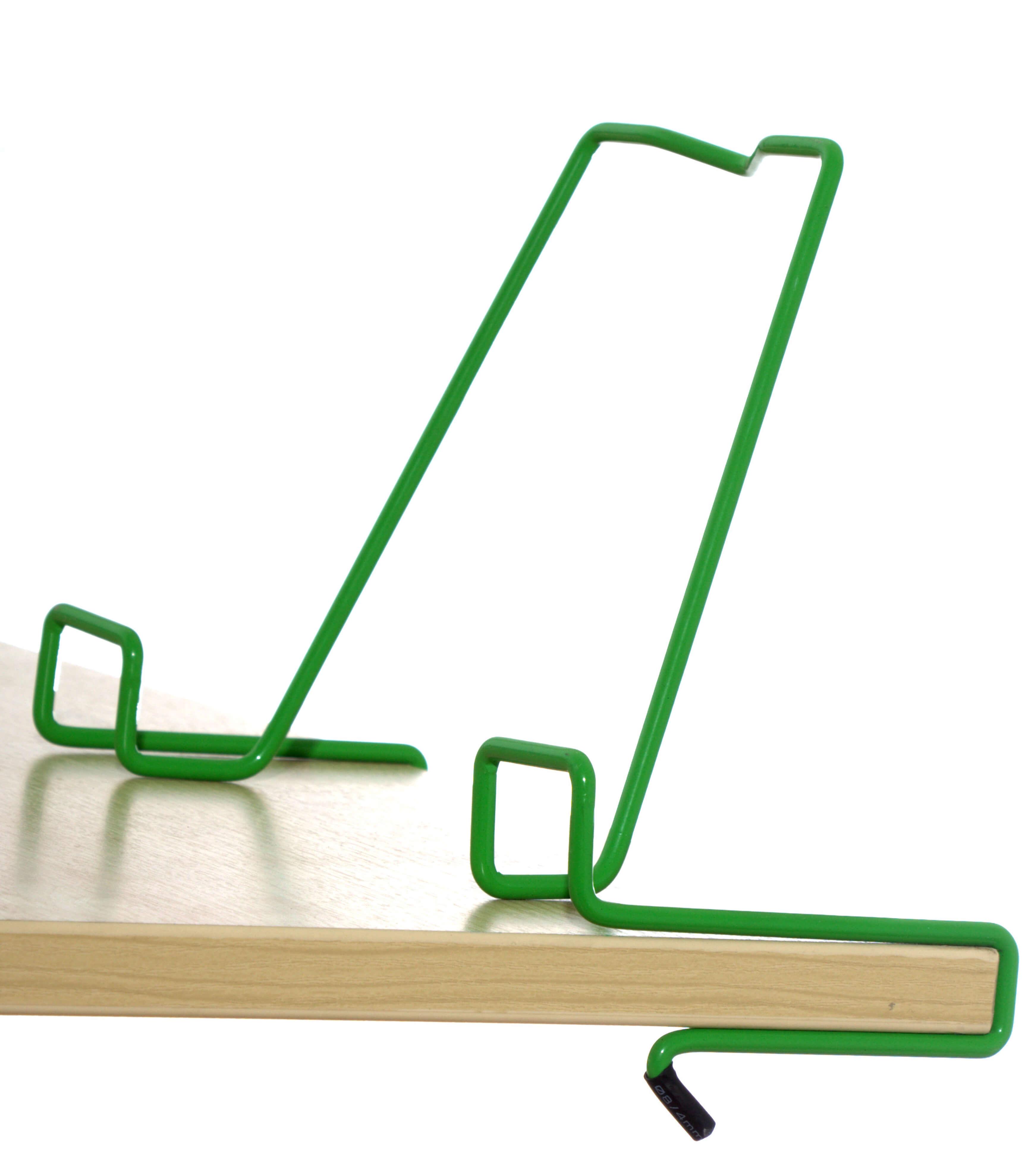 Подставка для книг для наклонных столешниц Дэми ПК-01 ЗеленыйАксессуары<br><br>Цвет: Зеленый; Бренд: Дэми; Ширина (см): 33; Глубина (см): 5; Высота (см): 20;