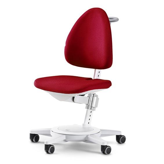 Стул Moll Maximo 15 Белый КрасныйМебель Moll<br><br>Цвет обивки: Красный; Цвет основания: Белый; Бренд: Moll; Ширина (см): 68; Глубина (см): 68;