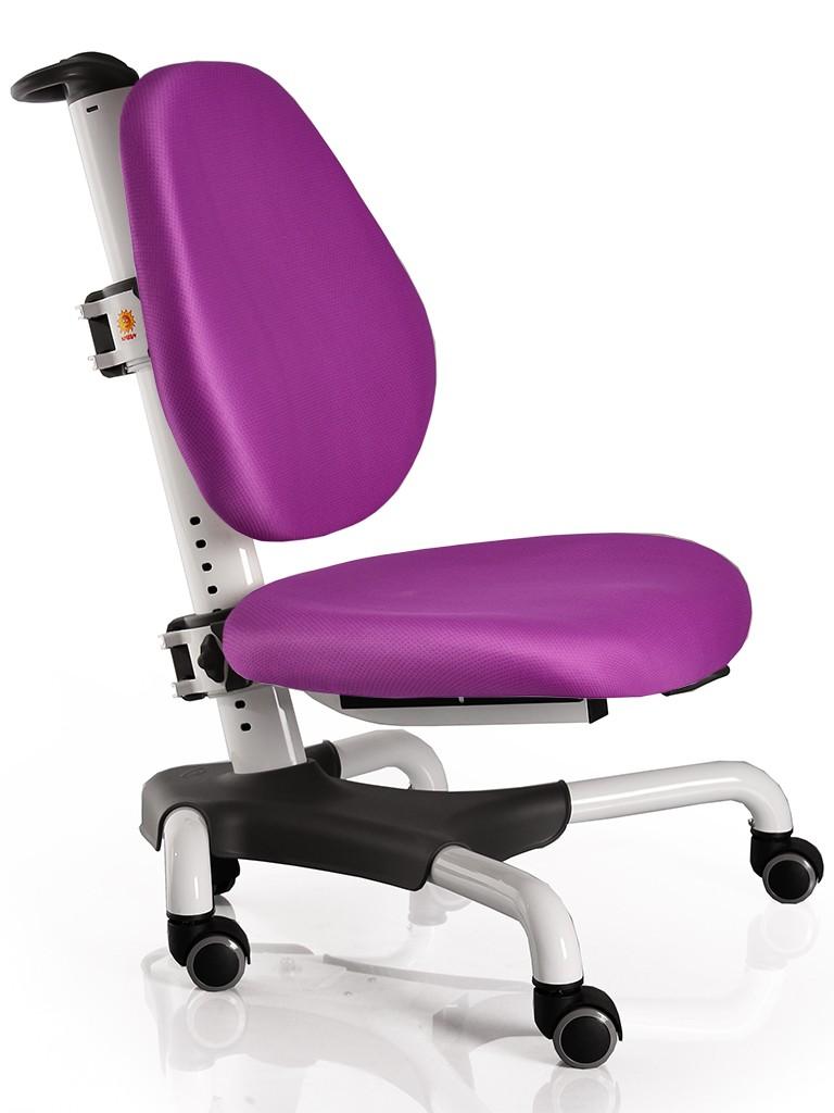 Детское кресло Mealux Y-517 Nobel Фиолетовый БелыйСтулья и кресла<br><br>Цвет обивки кресла: Фиолетовый; Цвет каркаса: Белый; Бренд: Mealux; Ширина (см): 53; Глубина (см): 58; Высота (см): 77;