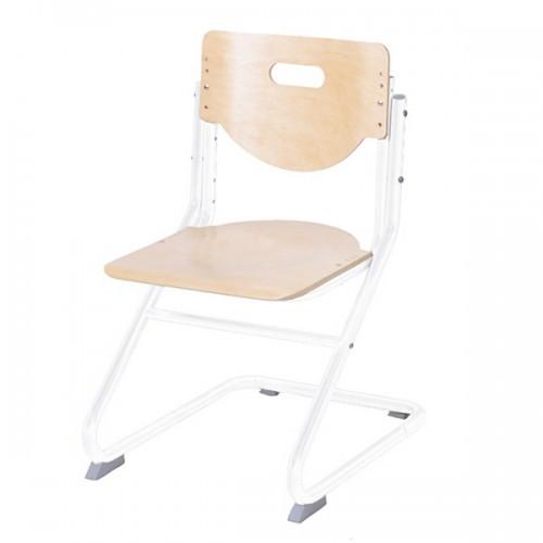 Стул-трансформер Астек SK-2 Береза БелыйСтулья и кресла<br><br>Цвет материала: Береза; Цвет каркаса: Белый; Бренд: Астек; Ширина (см): 41; Глубина (см): 39; Высота (см): 33;