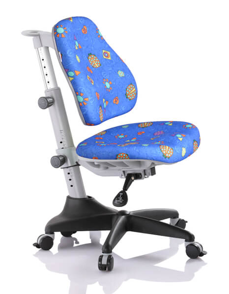 Детское кресло Comf-Pro Y-518 Match (Матч) Синий с жучками